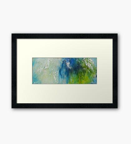 Tides Of Color 2 Framed Print