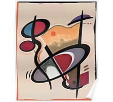 Abstract composition 87 Poster