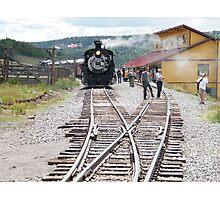 Cumbres-Toltec Narrow-Gauge Railroad,Colorado Photographic Print