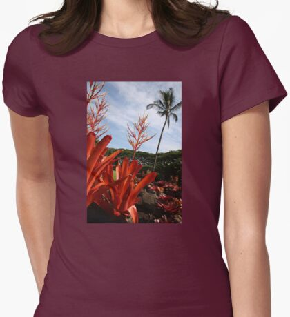 Maui Plantation Womens Fitted T-Shirt