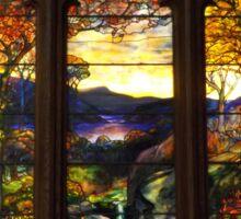 Tiffany Glass, Metropolitan Museum of Art, New York City Sticker