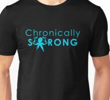 Chronically Strong - Bright Blue Unisex T-Shirt