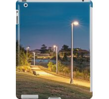 Suburban Park at Night iPad Case/Skin