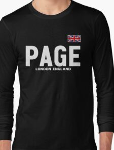 Michael VENOM Page Represent [FIGHT CAMP] Long Sleeve T-Shirt