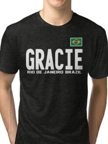 Gracie Represent [FIGHT CAMP] Tri-blend T-Shirt