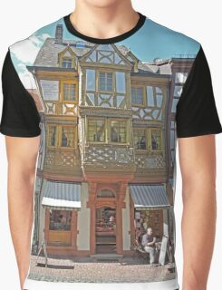 Old Building in Miltenberg Graphic T-Shirt