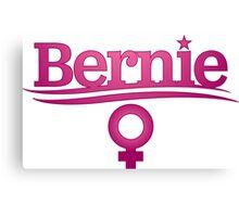 Women For Bernie Sanders Canvas Print