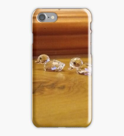 Ducklings following Mum iPhone Case/Skin