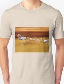 Ducklings following Mum Unisex T-Shirt