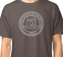 Official HORG Seal- dark shirts for dark science-business Classic T-Shirt