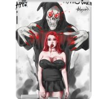 vampire Girl Halloween iPad Case/Skin