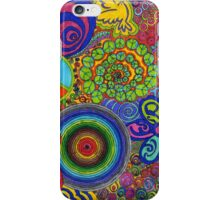 Abstract Psychadelic iPhone Case/Skin