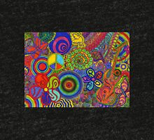 Abstract Psychadelic Tri-blend T-Shirt