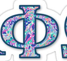Alpha Phi Omega Sticker