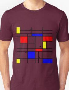 Mondrian style art T-Shirt