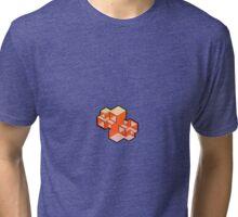 Modern Escher Boxes Tri-blend T-Shirt