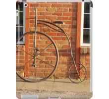 Old Bike iPad Case/Skin