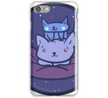 Beanbag Space Kitties iPhone Case/Skin