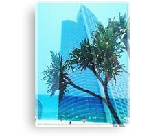 Beach front Living Canvas Print