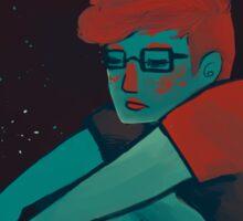 Alone in The Universe Sticker