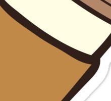 Take it Away Coffee Pattern Sticker