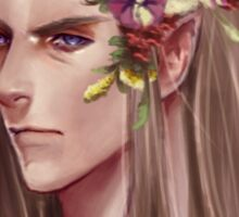 Thranduil Summer crown Sticker