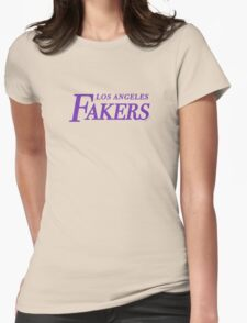 Los Angeles Fakers Womens Fitted T-Shirt