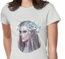 Thranduil Winter Crown Womens Fitted T-Shirt