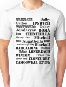 Queensland Route 2014 Unisex T-Shirt