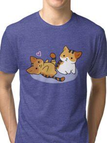 Neko Atsume Gozer & Princess Tri-blend T-Shirt