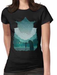 Spirited Journey Womens Fitted T-Shirt