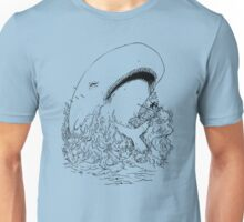 Captain Ahab and the Whale Unisex T-Shirt