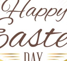 Happy Easter Day Sticker