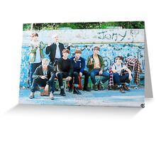 BTS Butterfly/Prologue Photoshoot Greeting Card