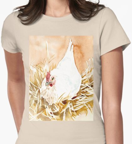 Kiep, the Bantam Womens Fitted T-Shirt