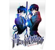 Ao no Exorcist Anime Blue Exorcist Poster