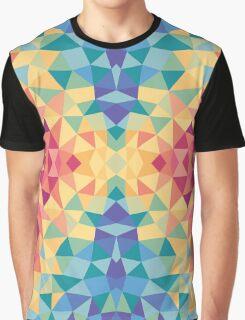 Bright multi-colored geometric design Graphic T-Shirt