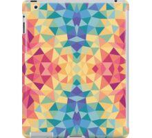 Bright multi-colored geometric design iPad Case/Skin
