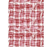 Bacon Plaid Photographic Print