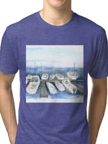 Marina, San Francisco Tri-blend T-Shirt