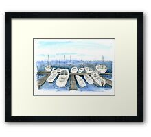 Marina, San Francisco Framed Print
