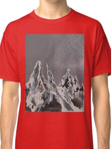 Mountains - Winter Sky Classic T-Shirt
