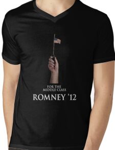For The Middle Class Mens V-Neck T-Shirt