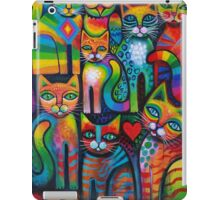 Owl and pussicats iPad Case/Skin