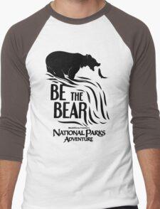 be the bear Men's Baseball ¾ T-Shirt