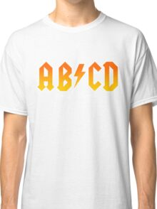 AB/CD : BACK IN BOOK Classic T-Shirt