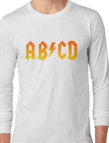 AB/CD : BACK IN BOOK Long Sleeve T-Shirt