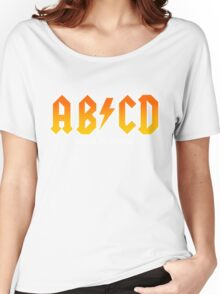 AB/CD : BACK IN BOOK Women's Relaxed Fit T-Shirt