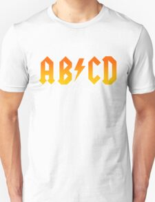 AB/CD : BACK IN BOOK T-Shirt