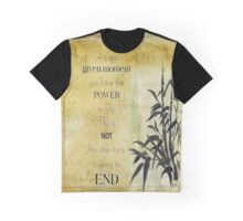 At any given moment... Graphic T-Shirt